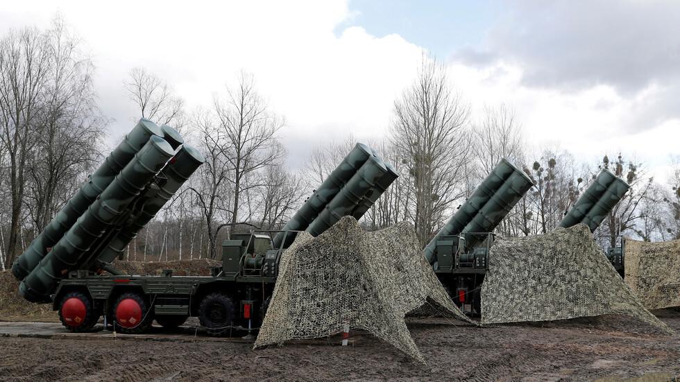 منظومات صواريخ روسية للدفاع الجوي من طراز
