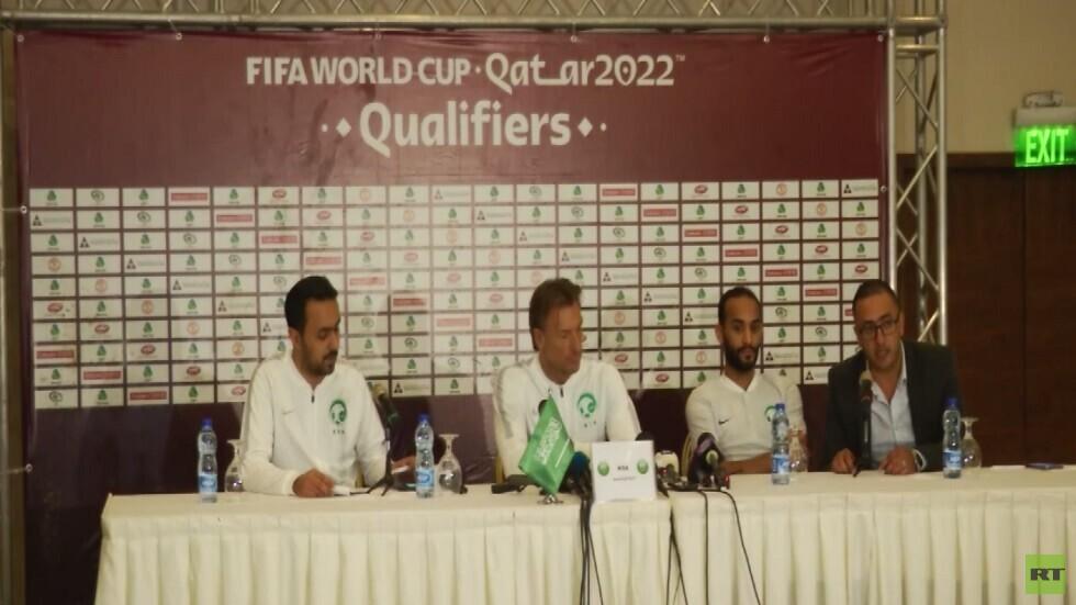 تحضيرات المنتخب السعودي في رام الله