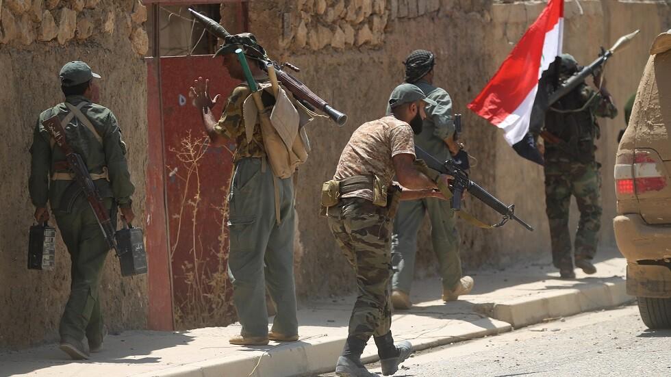عناصر الحشد الشعبي في العراق (صورة من الأرشيف)