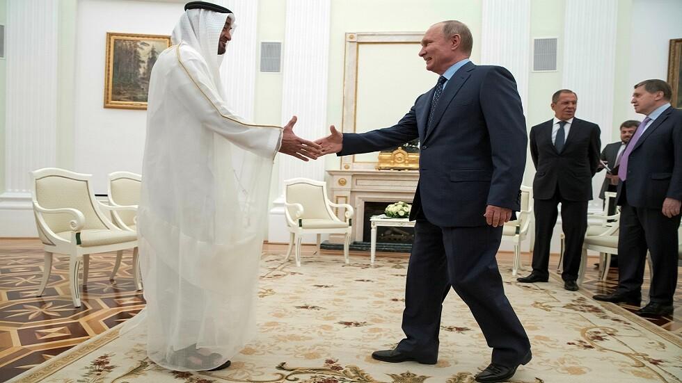 بعد السعودية... بوتين في الإمارات اليوم -