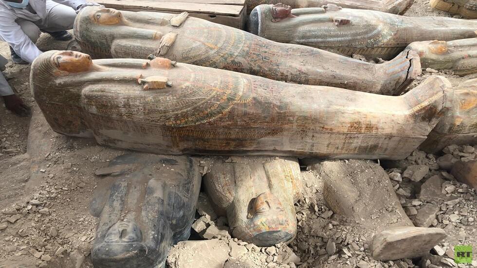 الاكتشافات الجديدة في جبانة العساسيف بالبر الغربي بالقرب من مدينة الأقصر