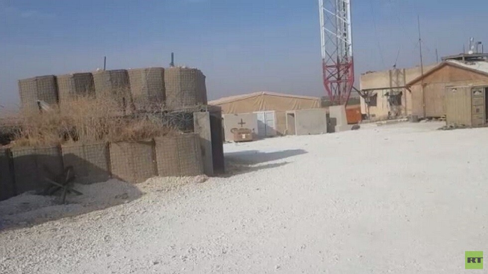 كاميرا RT تدخل قاعدة عسكرية أمريكية مهجورة قرب منبج
