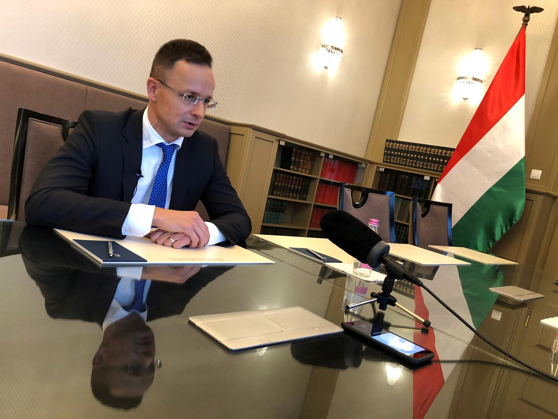 وزير الخارجية الهنغاري، بيتر جيجارتو