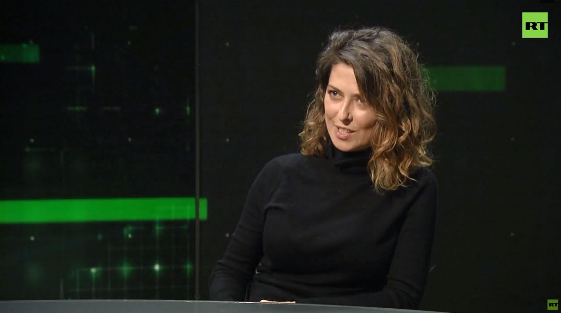 الصحفية الروسية يوليا يوزيك