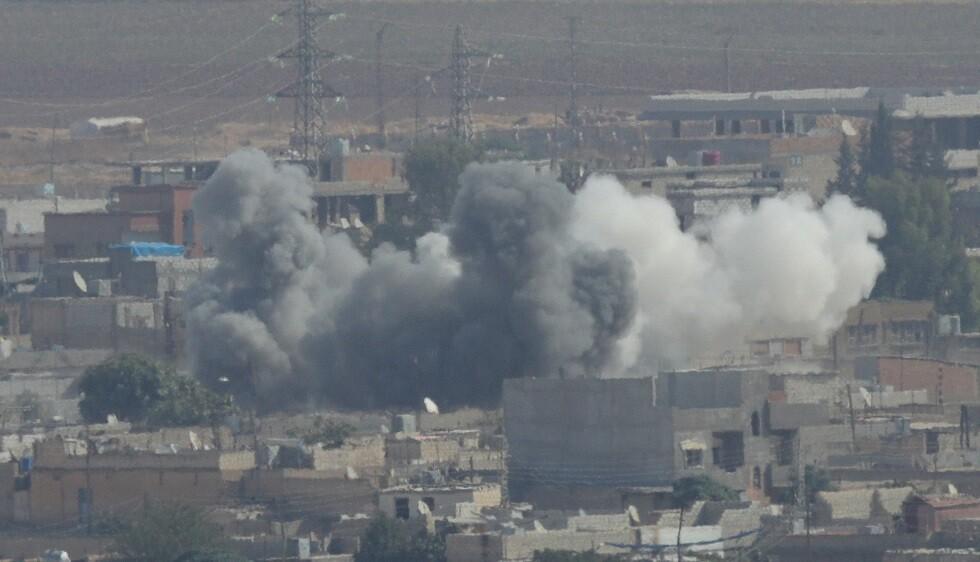 قصف تركي في شمال سوريا
