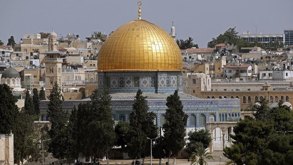 مسجد قبة الصخرة في القدس - أرشيف