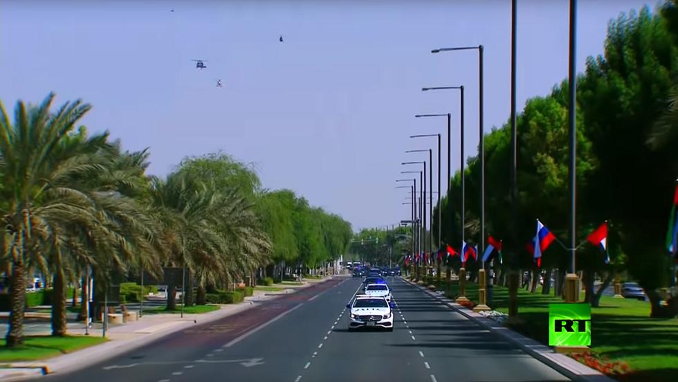 شرطة مرور موسكو في أبوظبي؟
