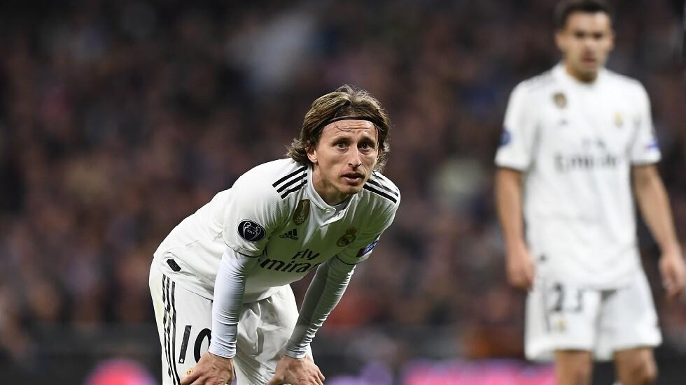 ريال مدريد يصدر بيانا بشأن إصابة مودريتش