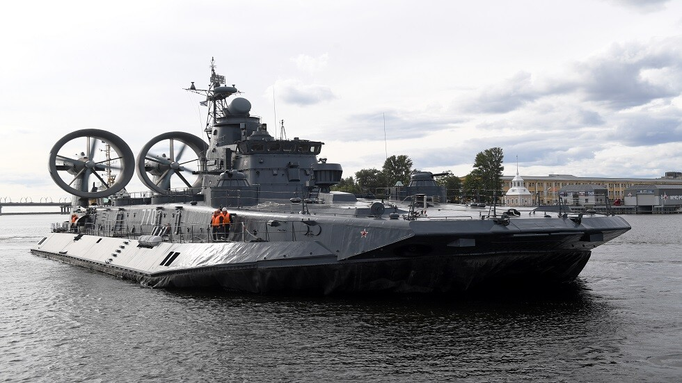 روسيا تطور سفنها العاملة بالوسادة الهوائية