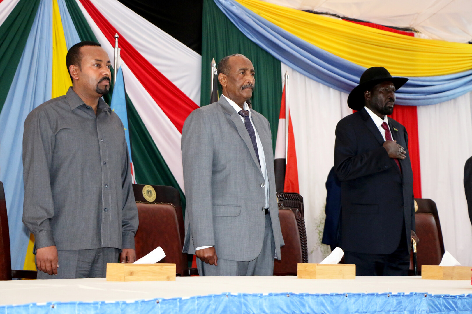بالفيديو.. البرهان ترأس اجتماع وفد الحكومة السودانية في جوبا