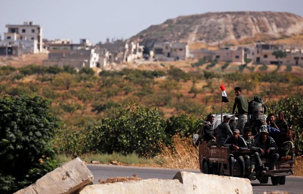 جنود سوريون - أرشيف -