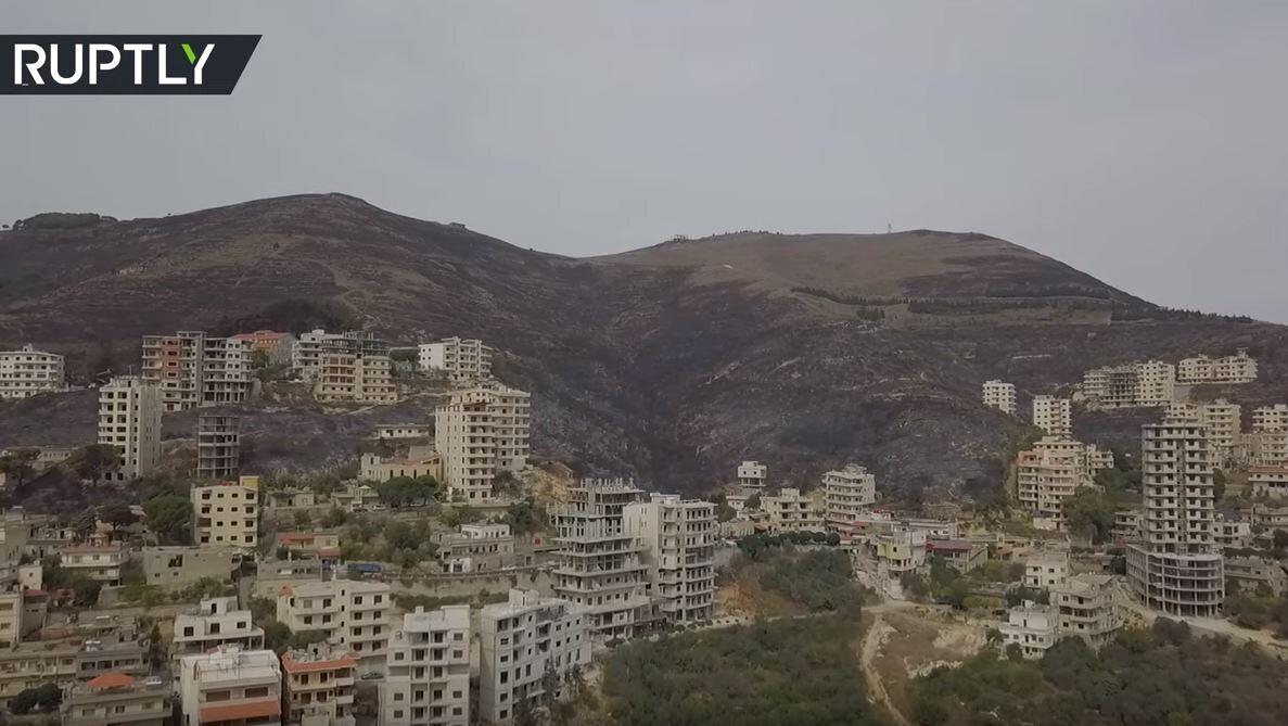 مساحات شاسعة.. غابات حمص تتحول إلى رماد