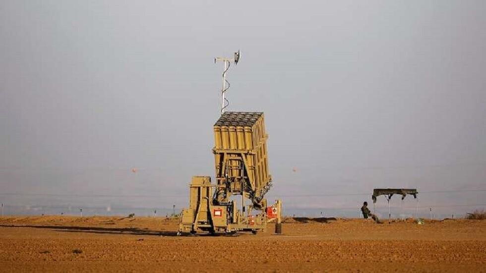 بطارية صواريخ اعتراضية تابعة للقبة حديدية