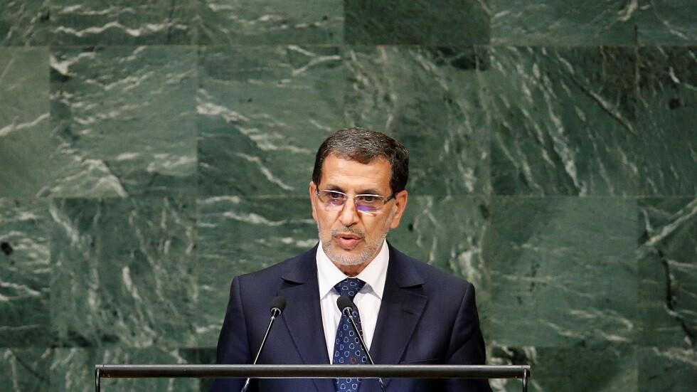 رئيس وزراء المغرب سعد الدين العثماني