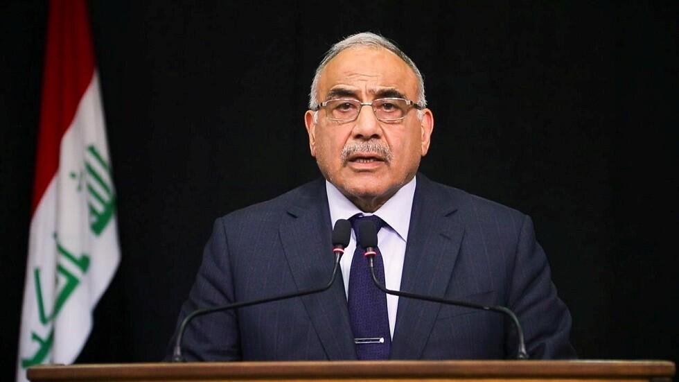 عبد المهدي يعلق على التظاهرات أمام رؤساء البعثات الدبلوماسية والمنظمات الدولية