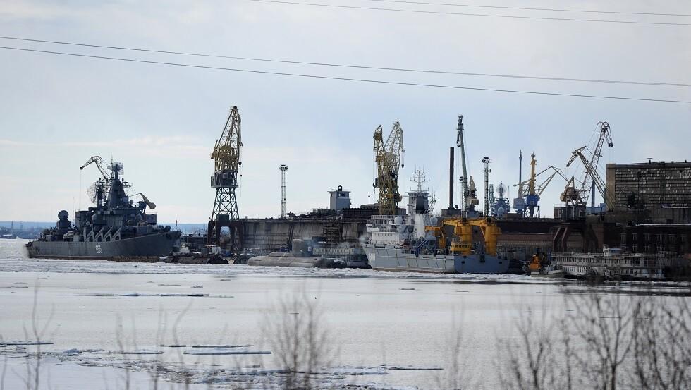 مدينة سيفيرودفينسك الروسية (صورة من الأرشيف)