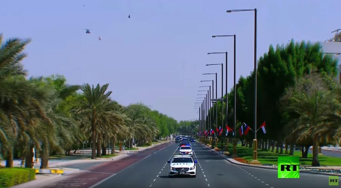 السفارة الروسية في أبو ظبي توضح مغزى الرمز
