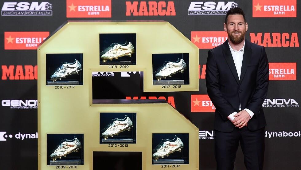 برشلونة: مجموعة أحذية ميسي أكثر من مجموعتك (فيديو)