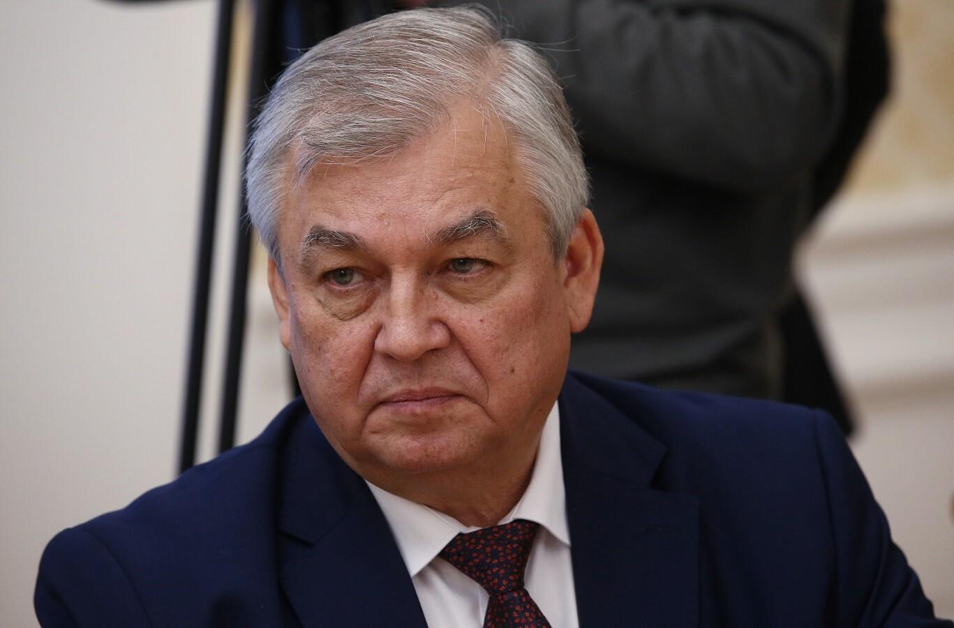 المبعوث الخاص للرئيس الروسي إلى شأن التسوية في سوريا، ألكسندر لافرينتييف
