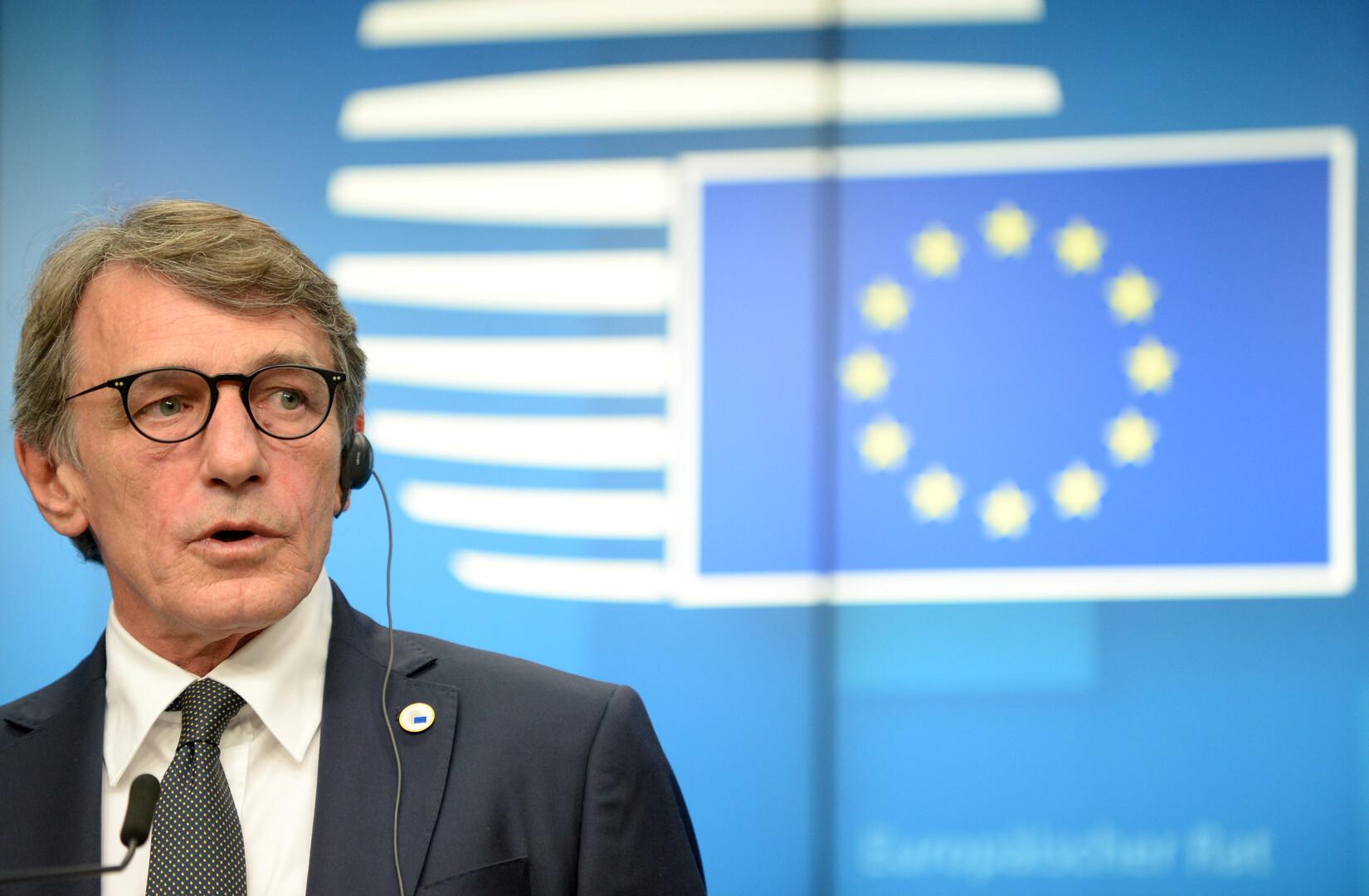 رئيس البرلمان الأوروبي، دافيد ساسولي