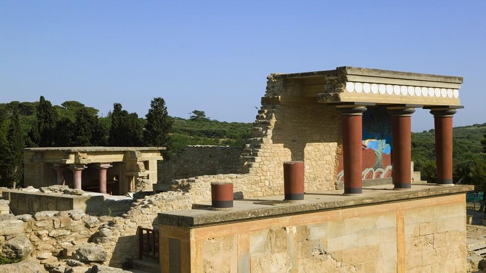 آثار الحضارة المينوسية في جزيرة كريت