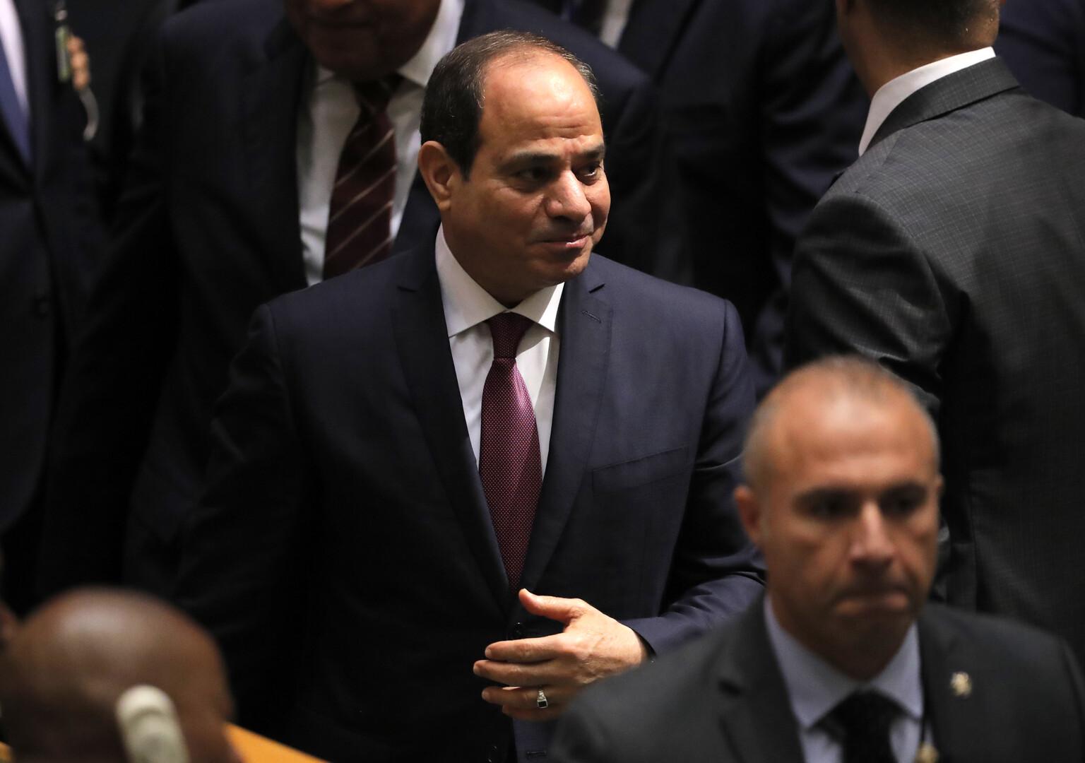 السيسي يوجه رسالة للمصريين بسبب