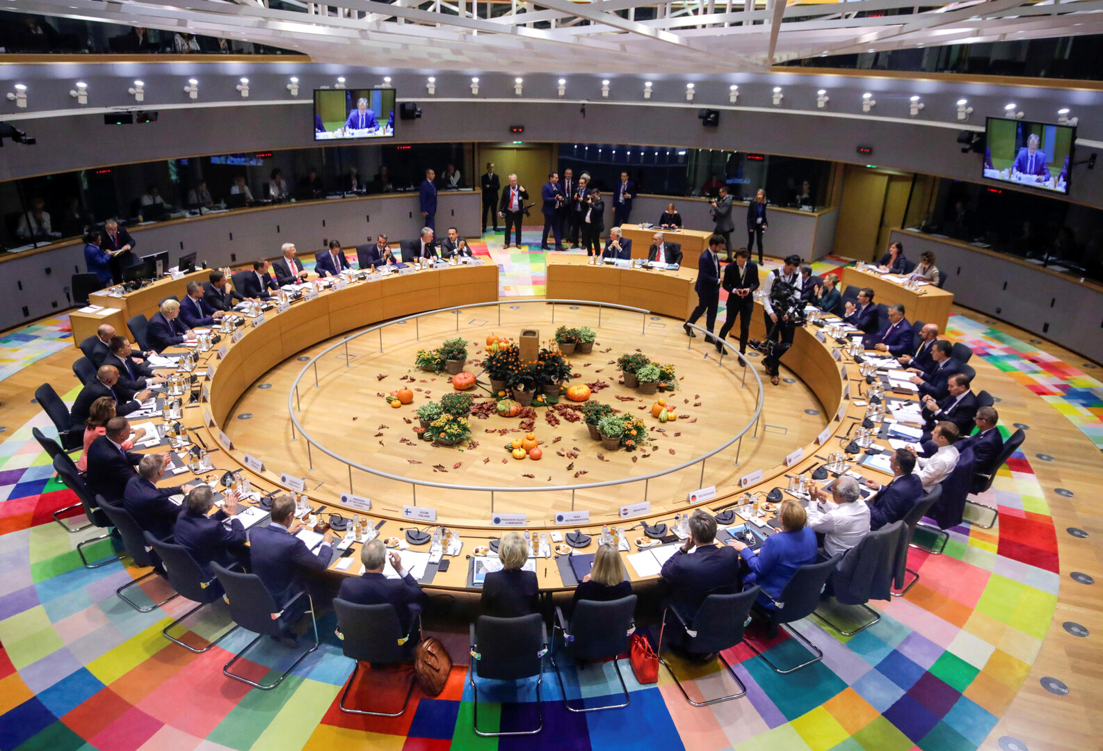 قمة الاتحاد الأوروبي في بروكسل يوم 17 أكتوبر