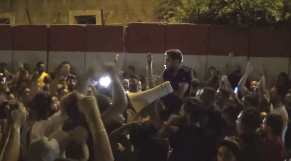 بالفيديو.. إطلاق نار وسط العاصمة اللبنانية بيروت