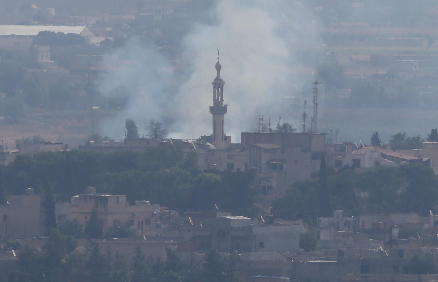قصف على محيط بلدة رأس العين شمالي سوريا رغم إعلان الهدنة