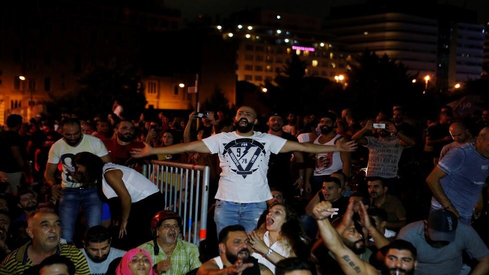 احتجاجات وسط بيروت -17/10/2019
