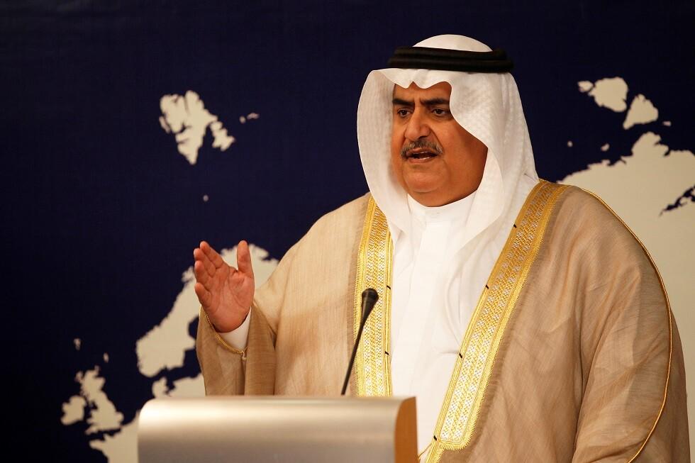 وزير الخارجية البحريني خالد بن أحمد