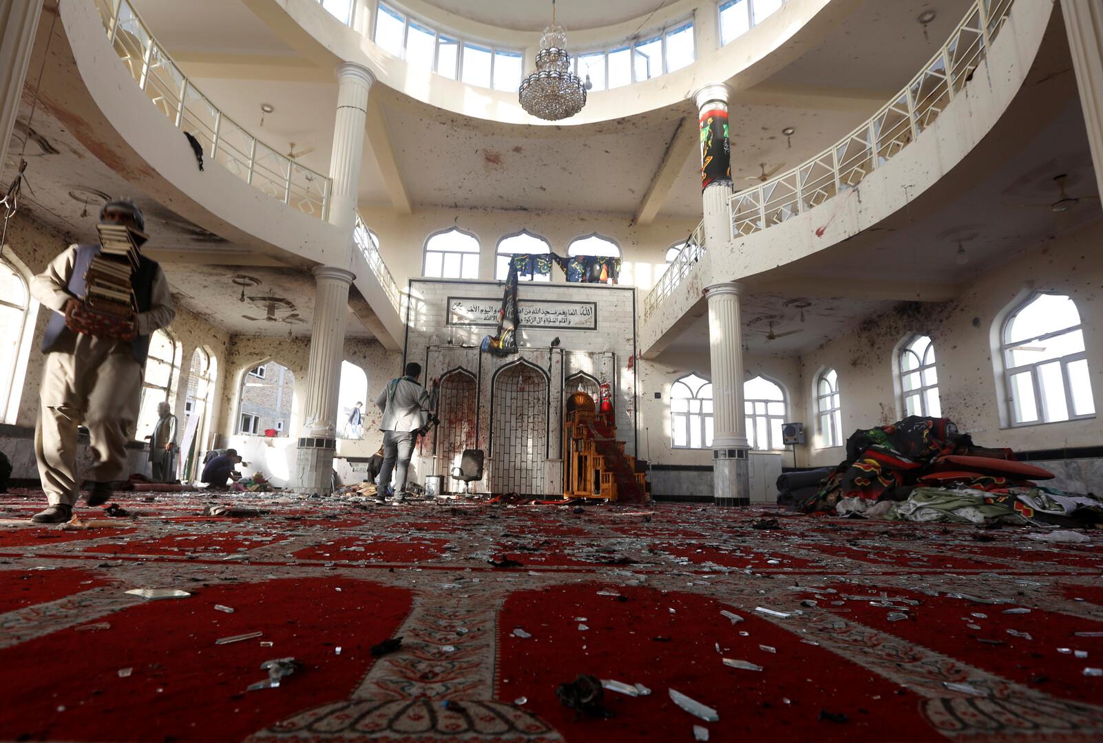 انفجار داخل مسجد في أفغانستان - أرشيف