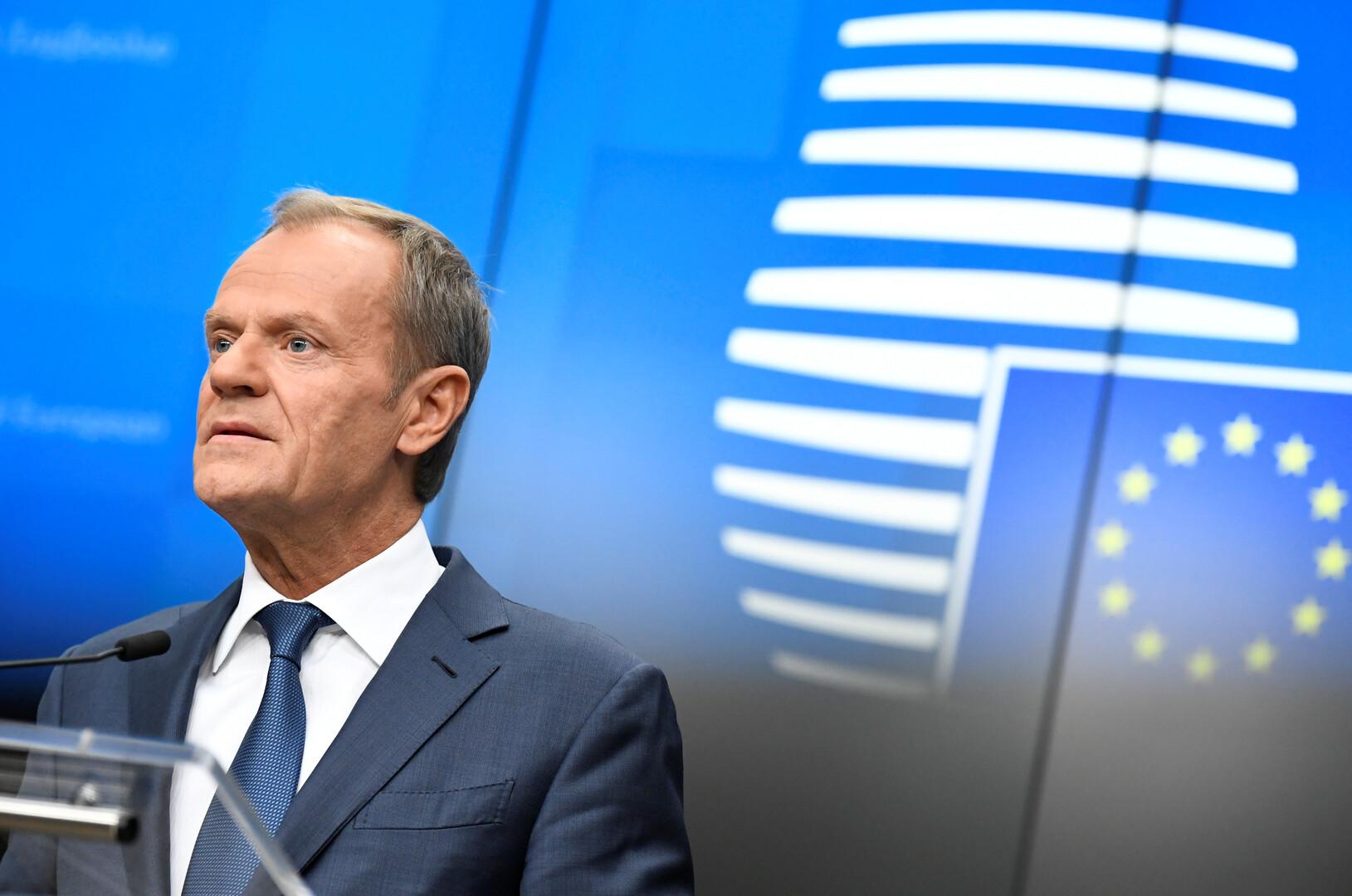 رئيس المجلس الأوروبي يهاجم اتفاق وقف إطلاق النار شمال شرقي سوريا