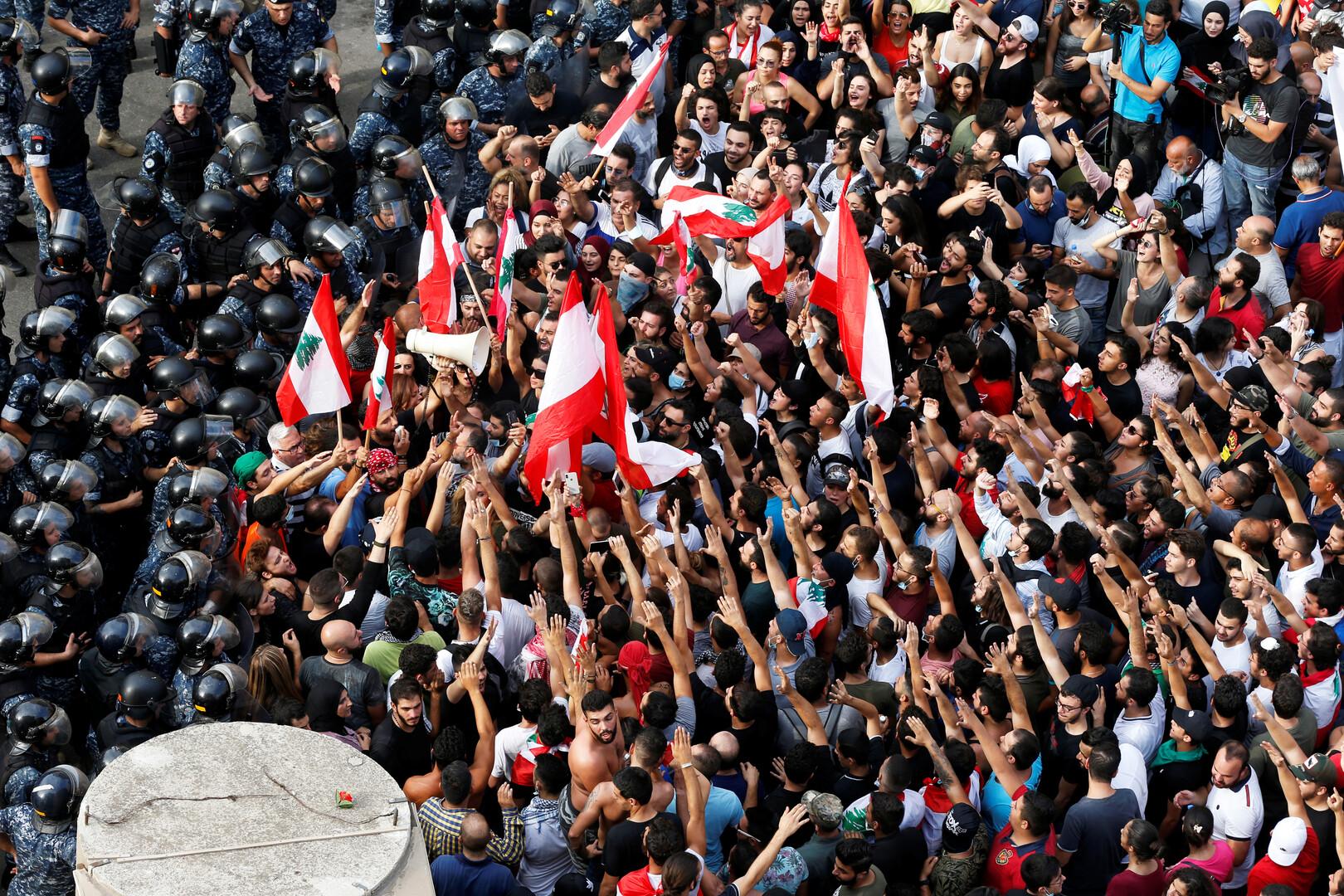 مراسلنا في لبنان: سقوط قتيل وإصابة 7 في مواجهات بين المتظاهرين ومرافقي النائب السابق مصباح الأحدب
