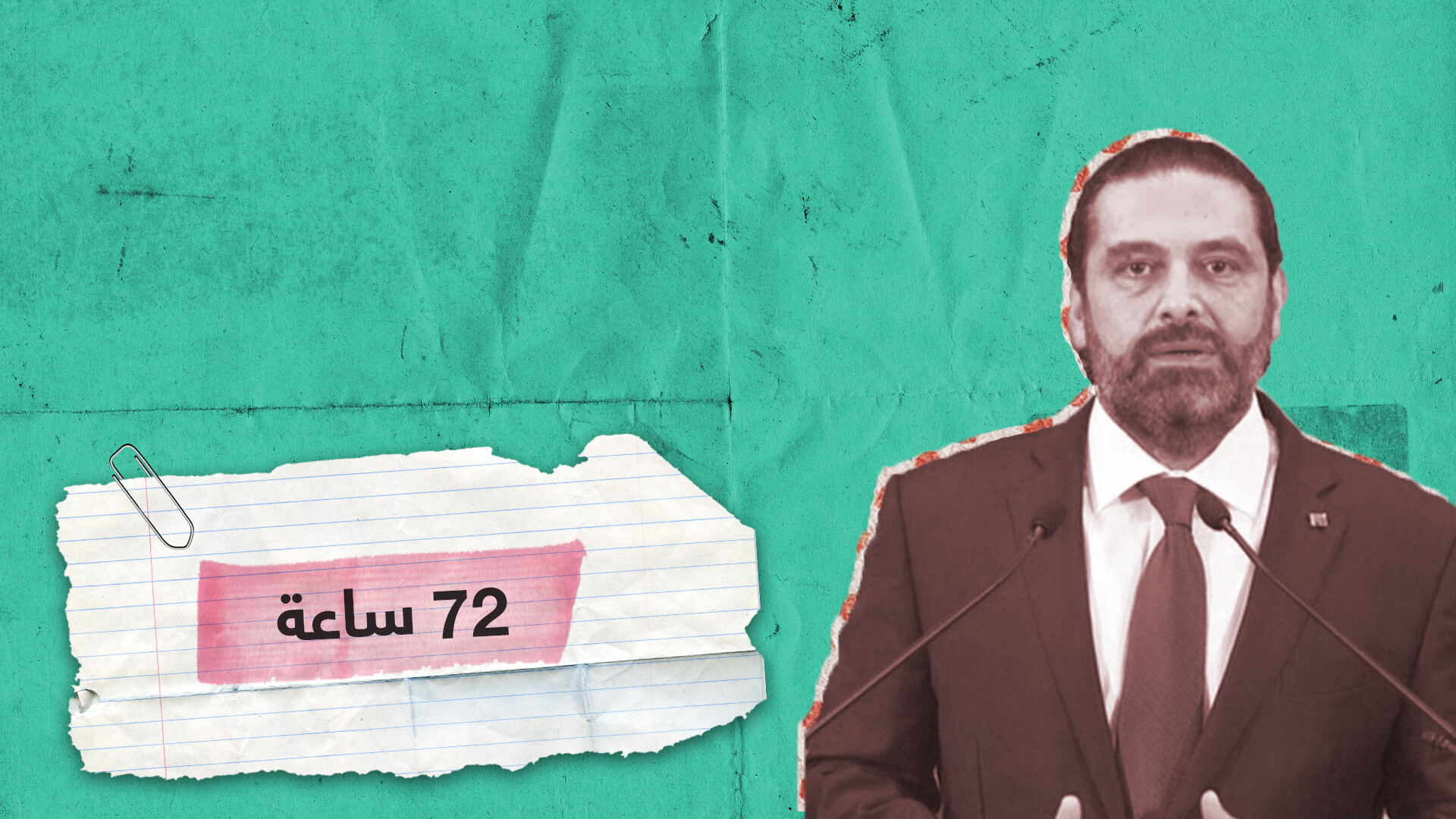 """""""هناك من يريدني كبشا للمحرقة"""".. الحريري يخاطب المتظاهرين في شوارع لبنان"""