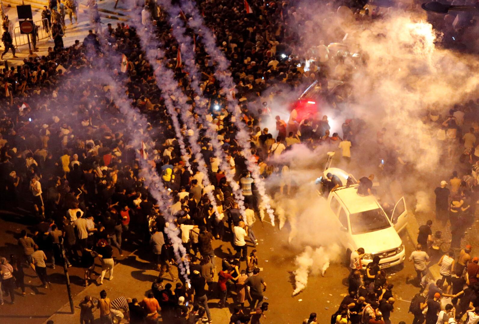احتجاجات لبنان