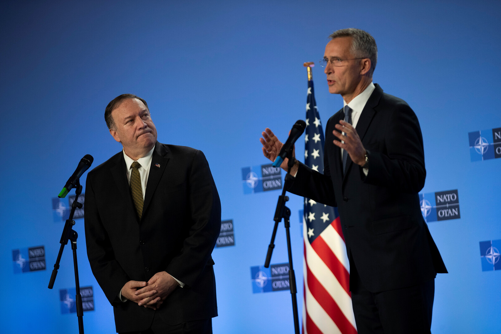 الناتو يرحب بالاتفاق التركي الأمريكي حول تعليق العملية التركية في سوريا