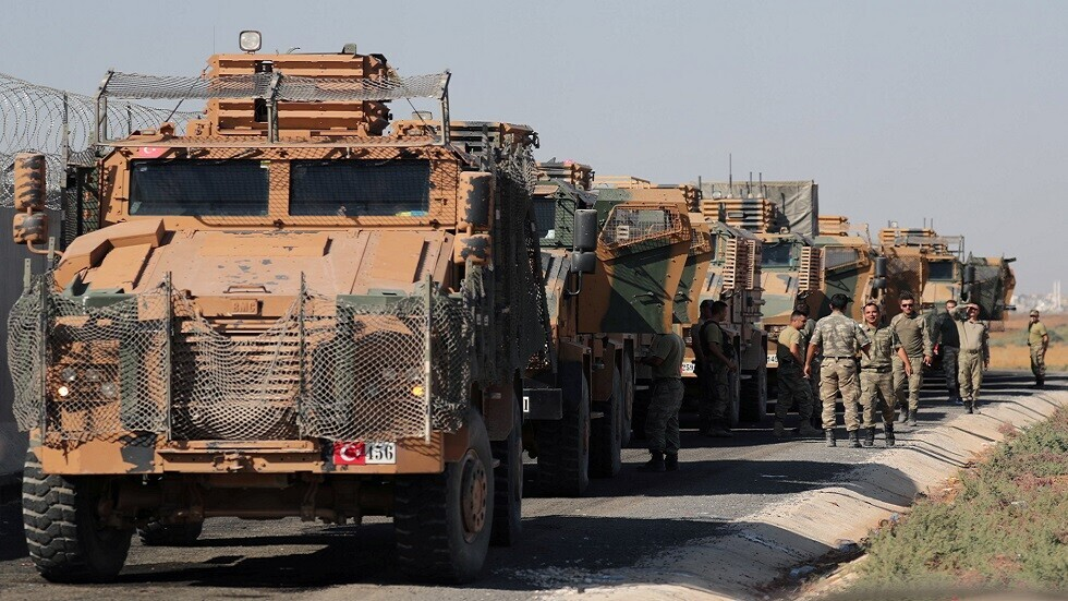 قوات تركية في منطقة الحدود السورية التركية - أرشيفية -