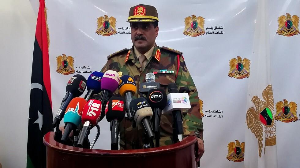ليبيا.. قوات حفتر تعلن تدمير منشآت دفاع جوي  تركية  في مصراتة -