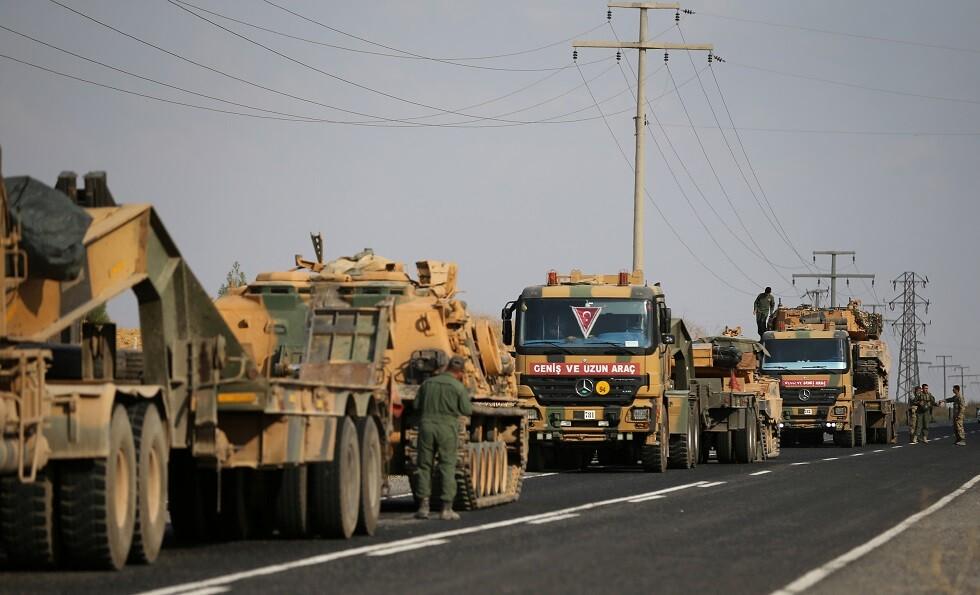 عربات الجيش التركي
