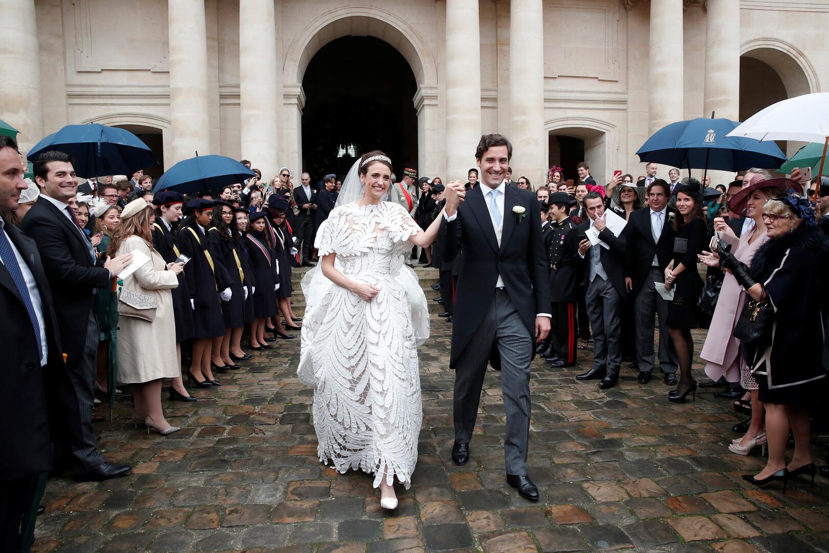 زواج ملكي فخم لحفيد نابليون بونابرت (صور)