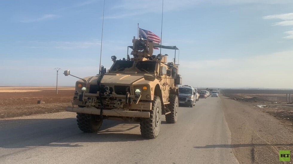 قافلة أمريكية تدخل الأراضي السورية قادمة من إقليم كردستان العراق (فيديو+صور)
