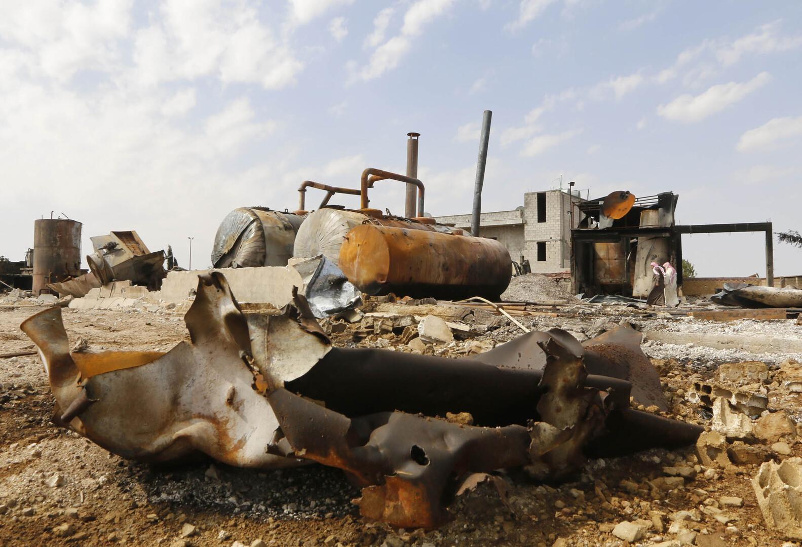 بدء إعادة إعمار حقول النفط والغاز في محافظة الرقة السورية