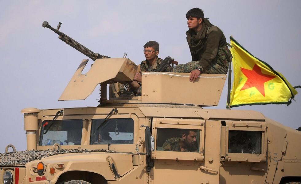 مسلحون أكراد في سوريا