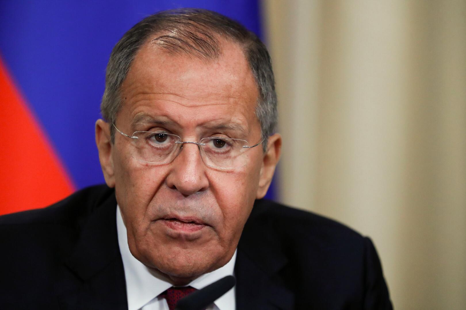 لافروف: من الضروري عودة عمل البعثات الدبلوماسية بين موسكو وواشنطن إلى طبيعته