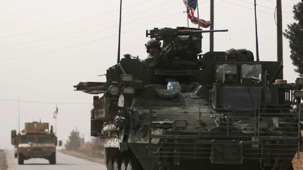 مدرعة عسكرية أمريكية في سوريا (9 مارس من العام 2017)