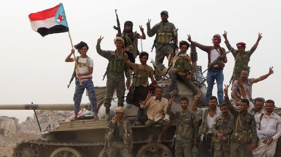 قوات تابعة للمجلس الانتقالي الجنوبي في عدن - اليمن 10 أغسطس 2019 -