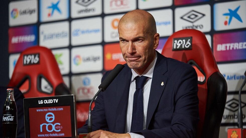 زيدان يكشف قائمة ريال مدريد لمواجهة غلطة سراي التركي