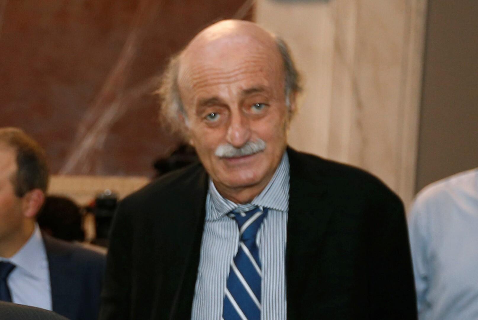 رئيس الحزب التقدمي الاشتراكي في لبنان وليد جنبلاط