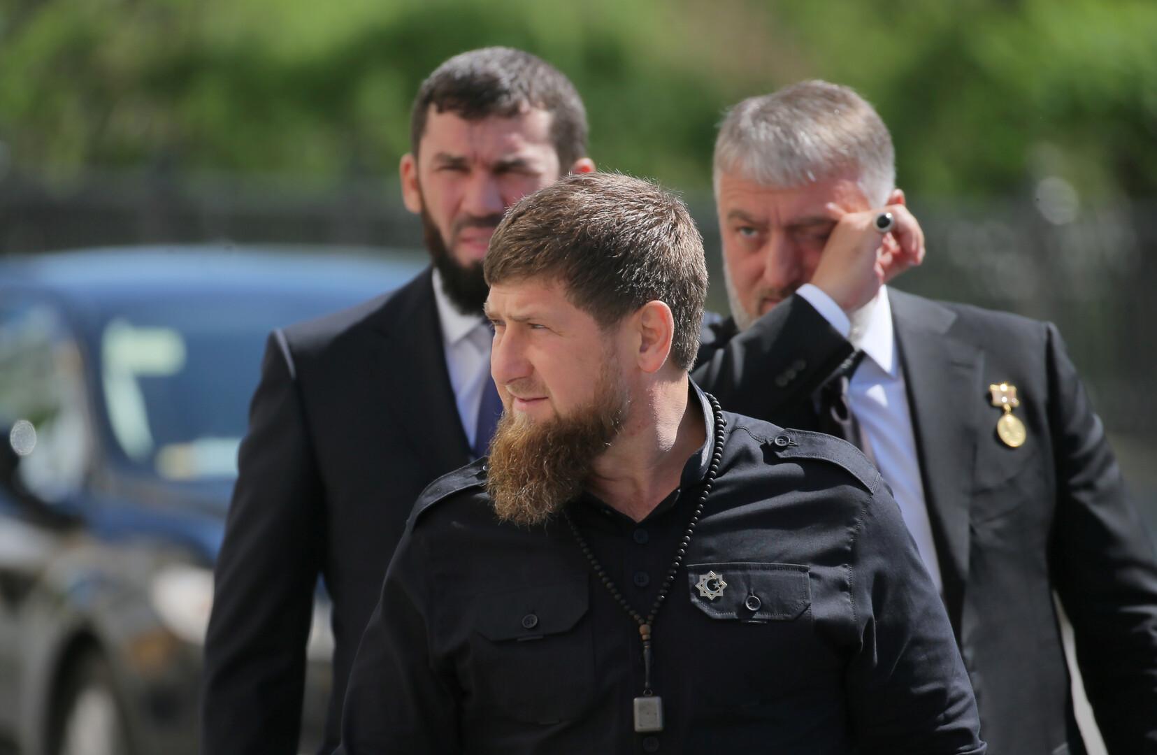الرئيس الشيشاني رمضان قديروف